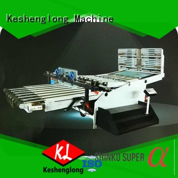 four color Top six color KeShengLong cardboard box printing machine