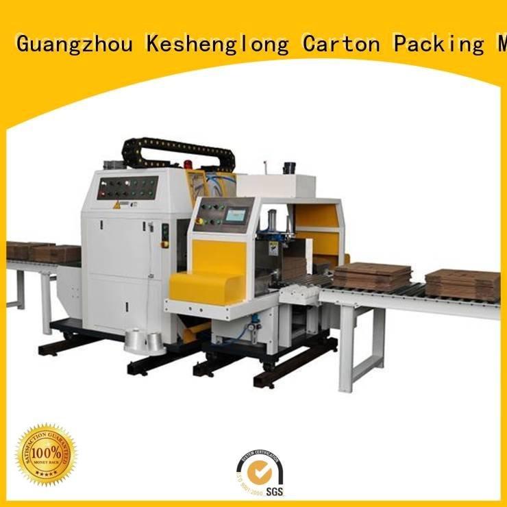 KeShengLong Top PFA cardboard box printing machine three color Auxiliary