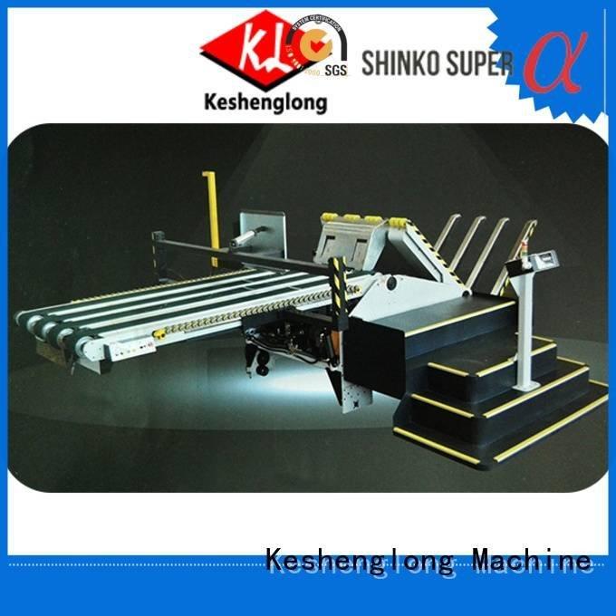 KeShengLong Brand Auxiliary cardboard box printing machine four color Top