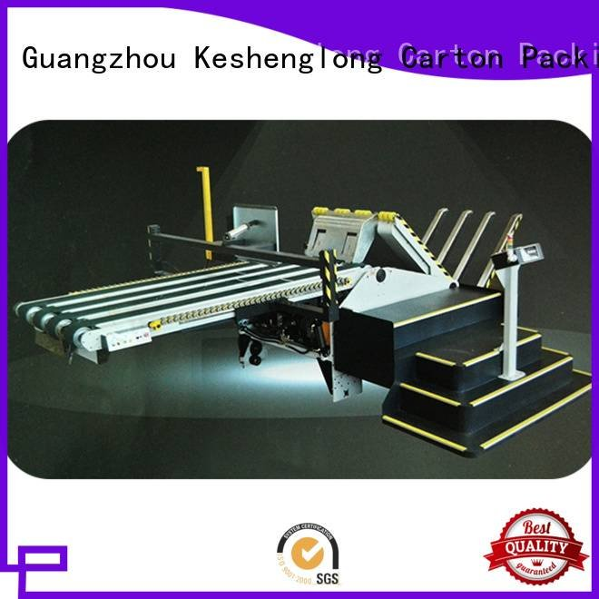 KeShengLong four color cardboard box printing machine PFA three color