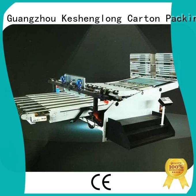 PFA Top cardboard box printing machine Auxiliary KeShengLong Brand cardboard box printing machine