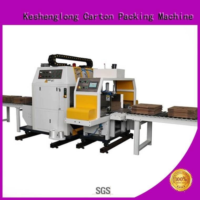 Auxiliary Top PFA cardboard box printing machine four color cardboard box printing machine KeShengLong