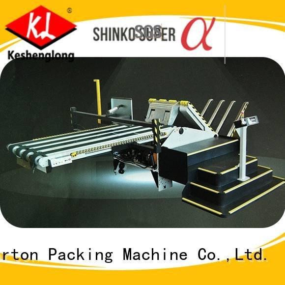 Quality cardboard box printing machine KeShengLong Brand three color cardboard box printing machine