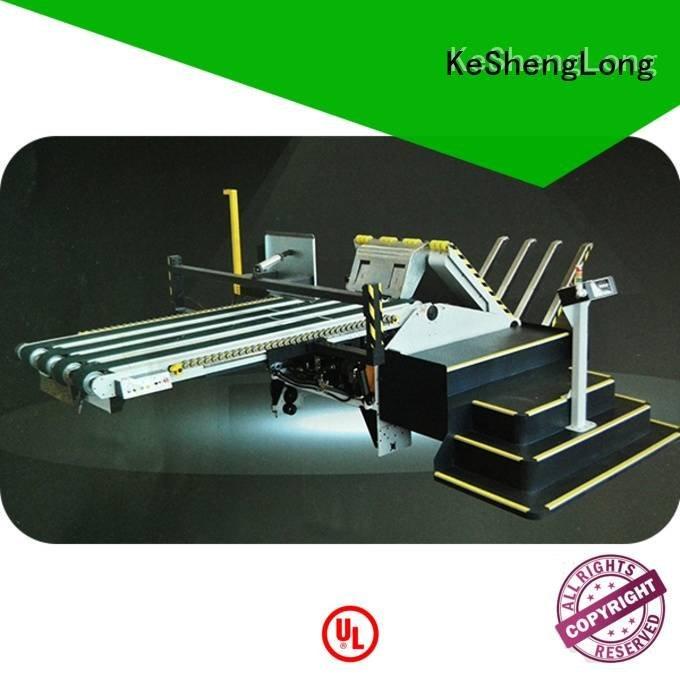 PFA six color Auxiliary cardboard box printing machine KeShengLong