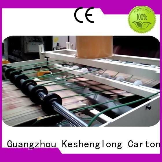 PFA three color six color four color KeShengLong cardboard box printing machine