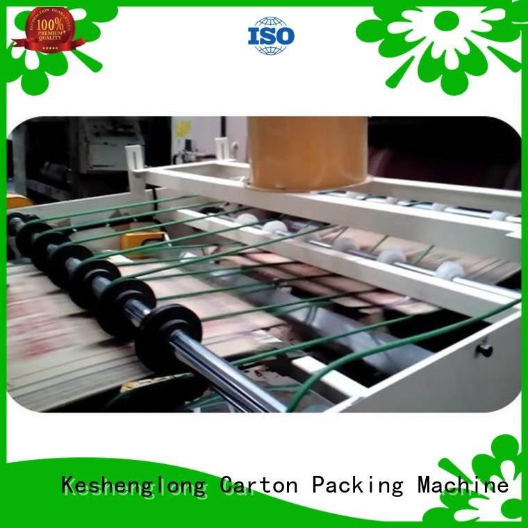 OEM cardboard box printing machine three color Auxiliary cardboard box printing machine