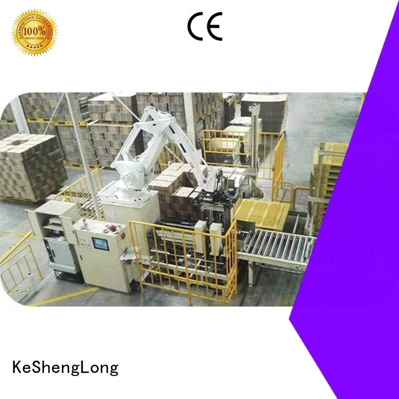 cardboard box printing machine three color PFA cardboard box printing machine KeShengLong Warranty