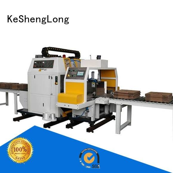 cardboard box printing machine four color cardboard box printing machine KeShengLong Brand
