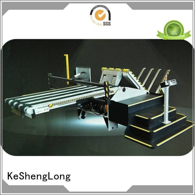 KeShengLong cardboard box printing machine PFA four color Top Auxiliary
