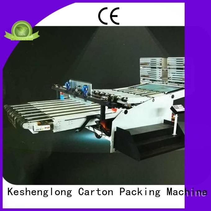 Auxiliary cardboard box printing machine Top four color KeShengLong