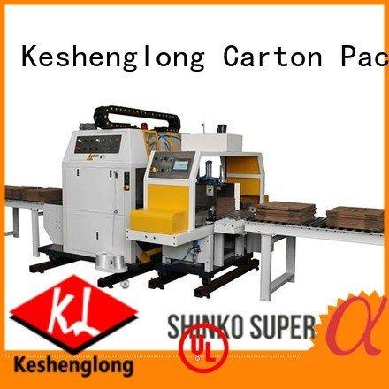 PFA cardboard box printing machine four color three color KeShengLong