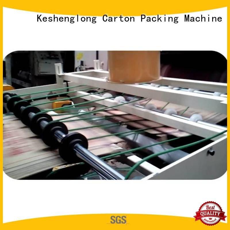 Top PFA Auxiliary cardboard box printing machine KeShengLong cardboard box printing machine