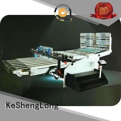 cardboard box printing machine PFA three color cardboard box printing machine KeShengLong Brand