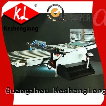 PFA four color Auxiliary three color KeShengLong cardboard box printing machine