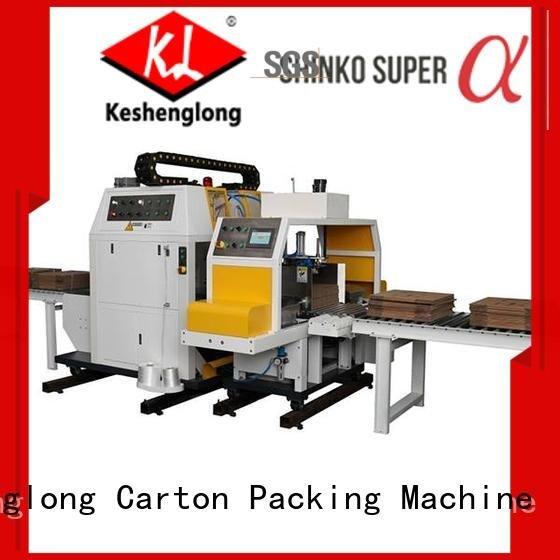cardboard box printing machine robot counter pe1280 KeShengLong