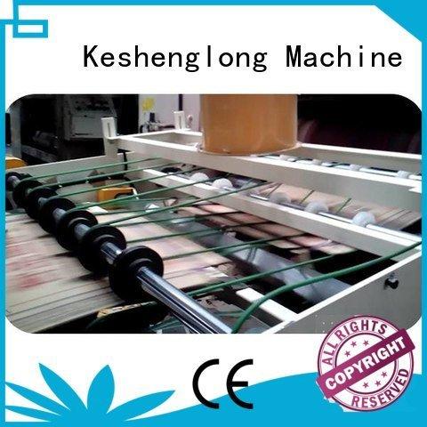 KeShengLong cardboard box printing machine PFA three color Top