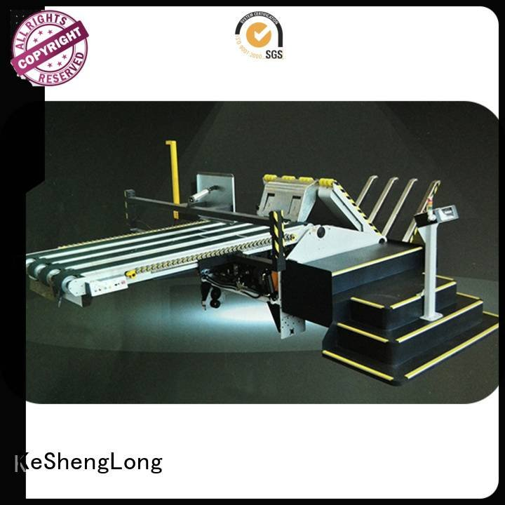 KeShengLong Brand three color Auxiliary Top cardboard box printing machine