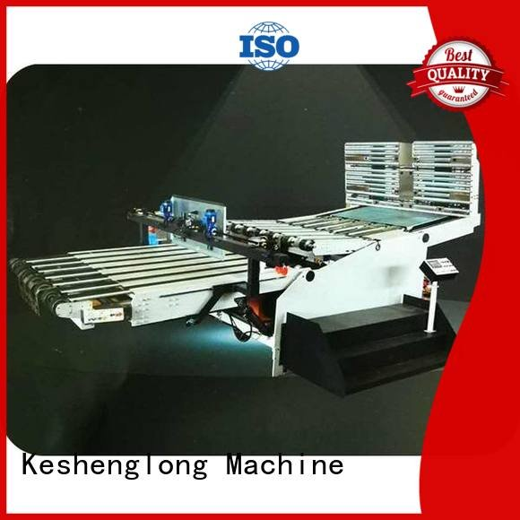 three color four color Auxiliary KeShengLong cardboard box printing machine