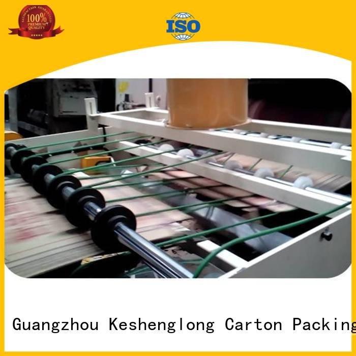 cardboard box printing machine six color PFA Top KeShengLong