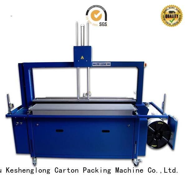 KeShengLong Brand stacker palletizing robot cardboard box printing machine
