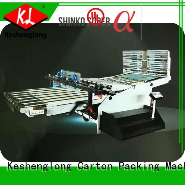 cardboard box printing machine six color four color Top PFA KeShengLong