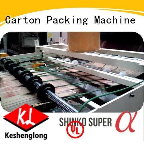 OEM cardboard box printing machine China three color cardboard box printing machine