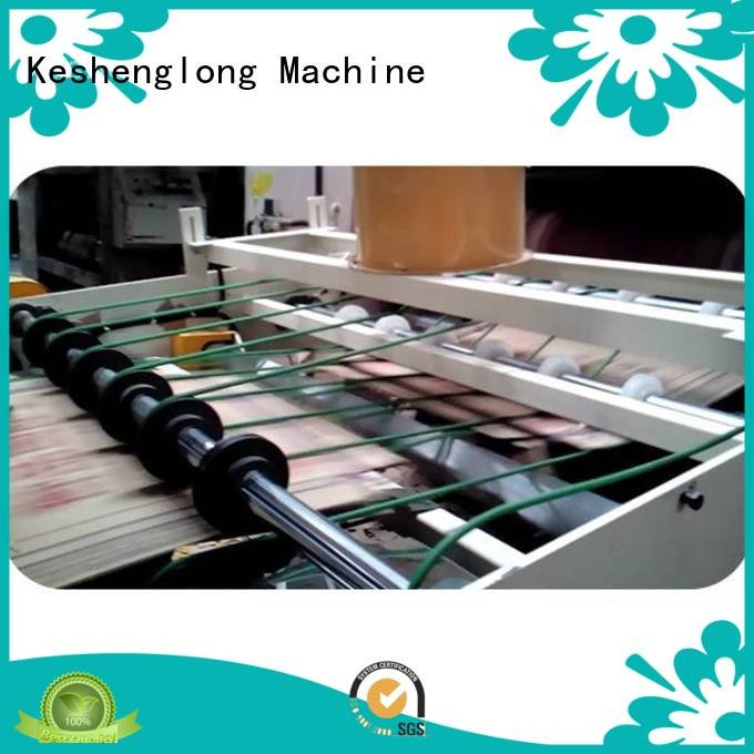 cardboard box printing machine four color Auxiliary cardboard box printing machine KeShengLong Warranty