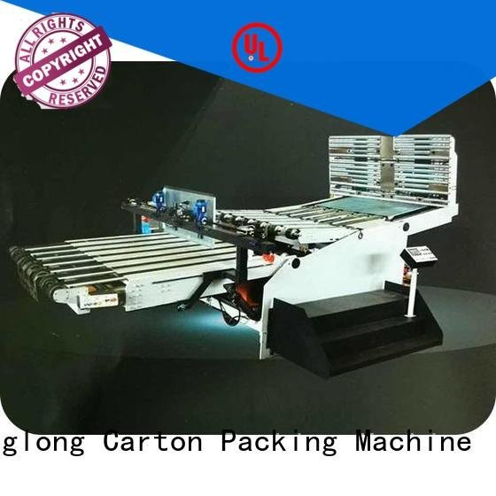 OEM cardboard box printing machine six color PFA cardboard box printing machine