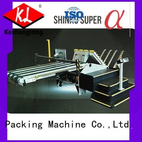 robot machine pfa KeShengLong cardboard box printing machine