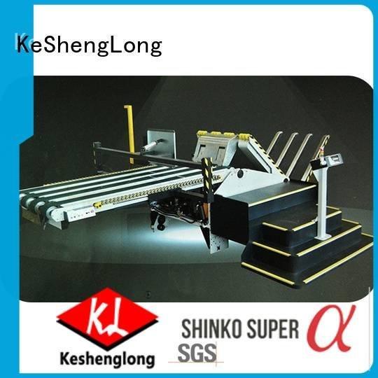 Top four color three color PFA KeShengLong cardboard box printing machine