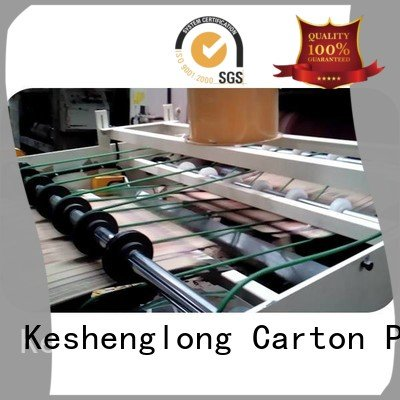 PFA Top three color cardboard box printing machine four color KeShengLong Brand cardboard box printing machine Auxiliary