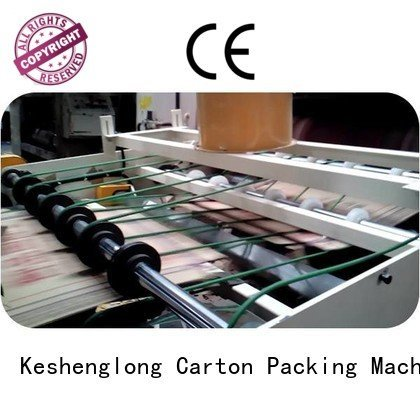 pp1250 stacker robot KeShengLong cardboard box printing machine