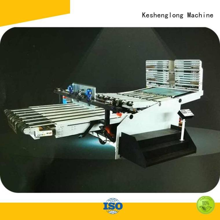 Custom cardboard box printing machine prefeeder palletizing series KeShengLong