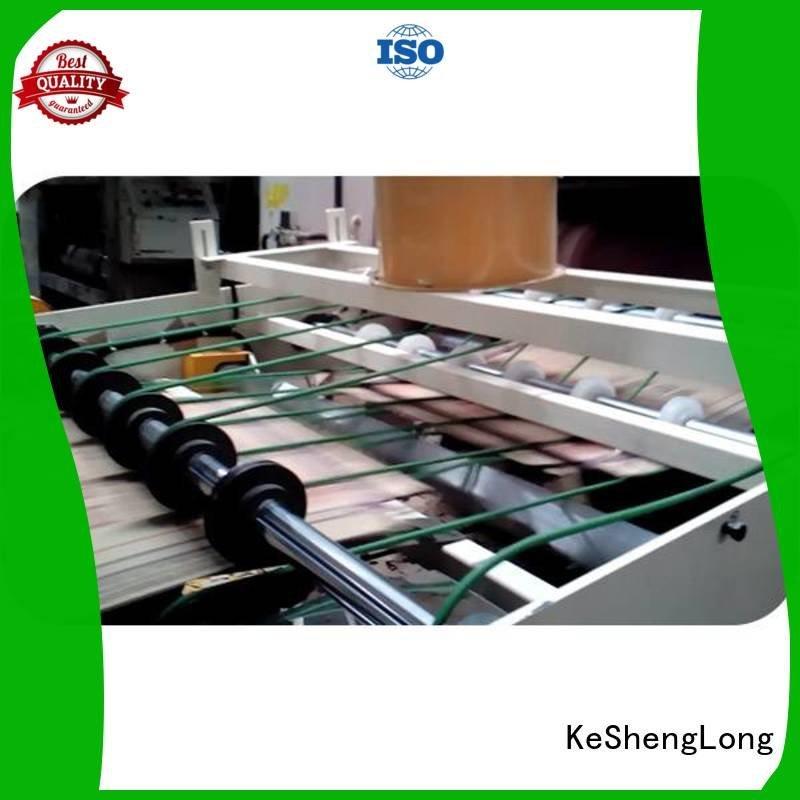 KeShengLong Brand six color PFA cardboard box printing machine three color Auxiliary