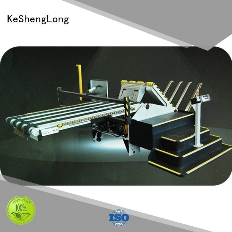 pp1250 palletizing manipulator cardboard box printing machine KeShengLong