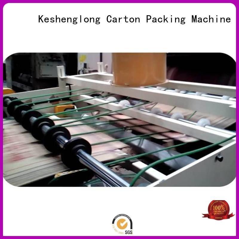Auxiliary Top PFA PFA cardboard box printing machine KeShengLong cardboard box printing machine three color