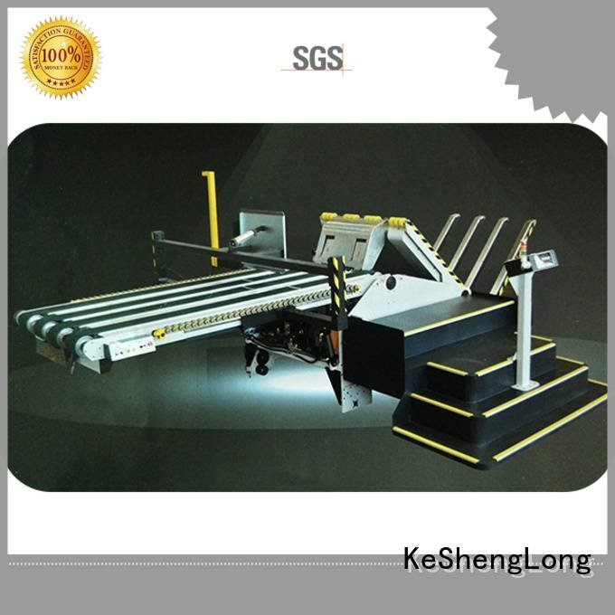cardboard box printing machine three color cardboard box printing machine KeShengLong