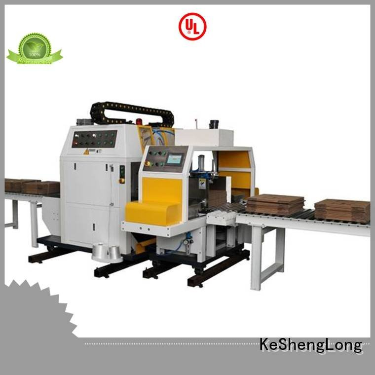 three color PFA Top cardboard box printing machine three color cardboard box printing machine KeShengLong Brand Auxiliary