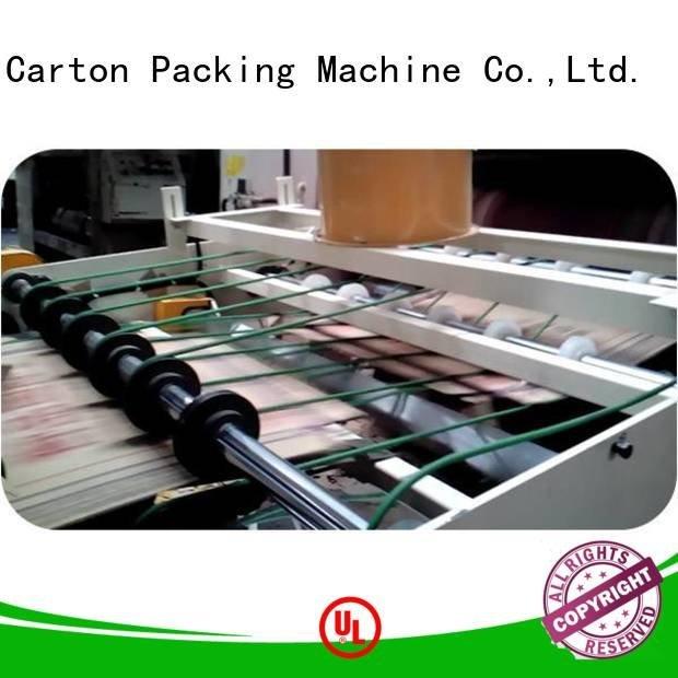 cardboard box printing machine three color Top Auxiliary PFA KeShengLong