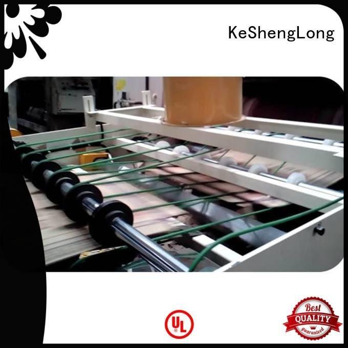 Top Auxiliary PFA cardboard box printing machine three color cardboard box printing machine KeShengLong Brand