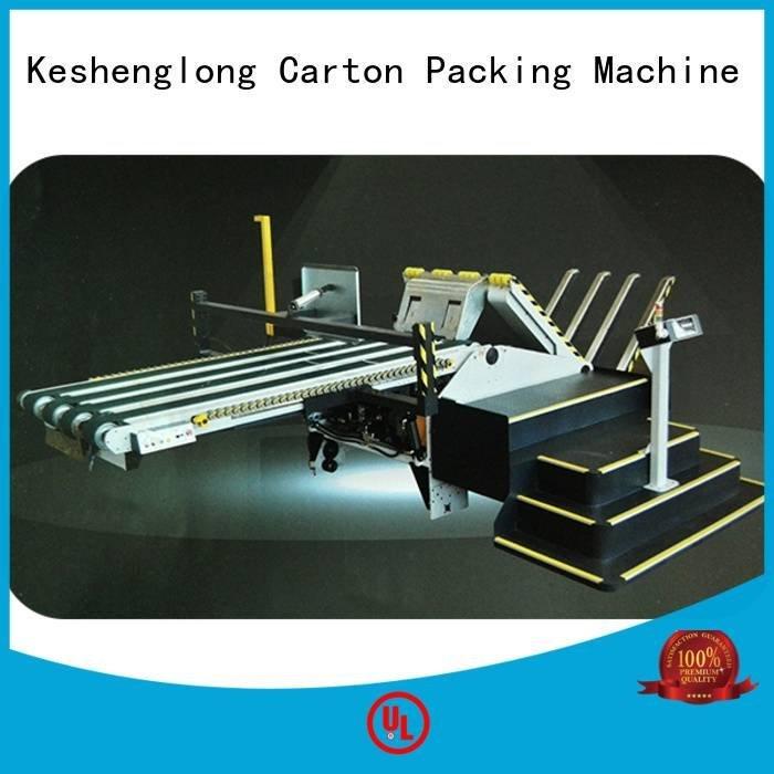 four color cardboard box printing machine three color PFA KeShengLong
