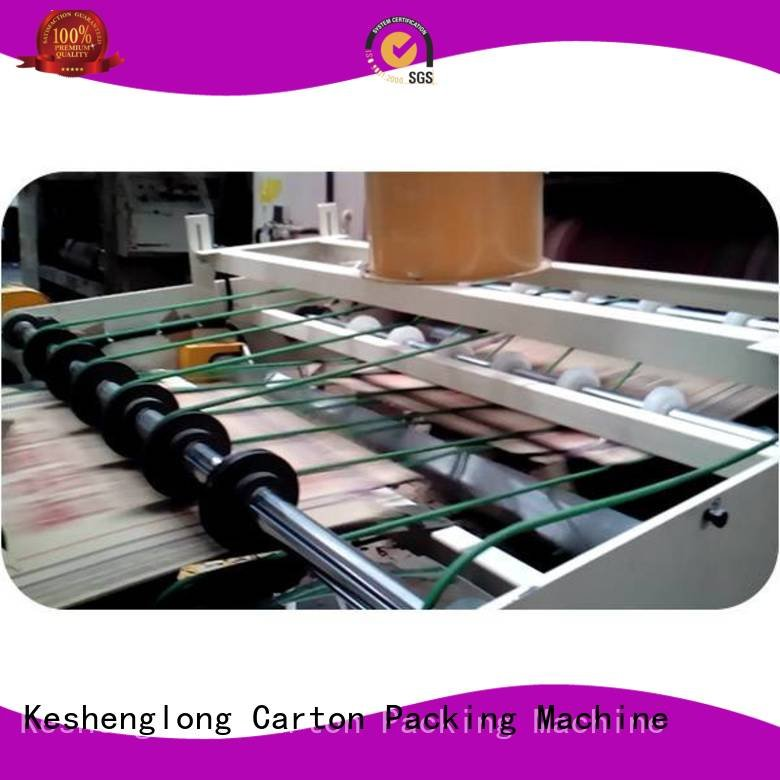 Top three color six color Auxiliary KeShengLong cardboard box printing machine