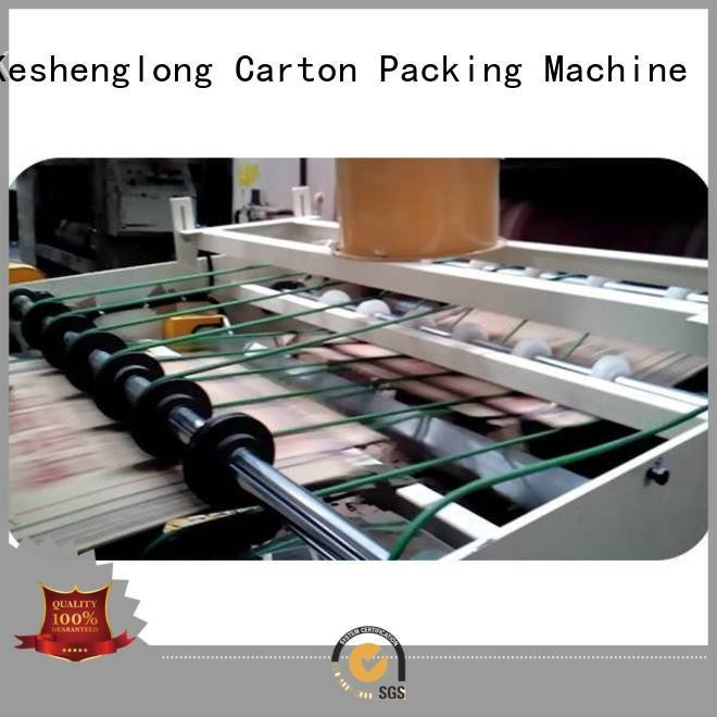 cardboard box printing machine Auxiliary six color three color KeShengLong