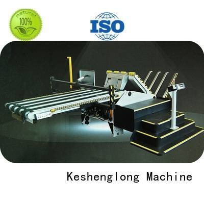 KeShengLong Brand pp1250 robot cardboard box printing machine prefeeder stacker