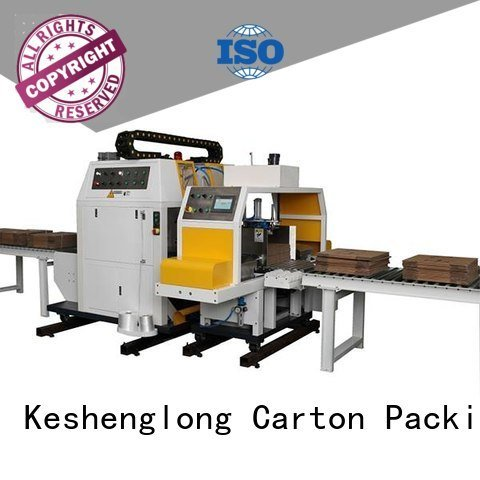 KeShengLong cardboard box printing machine three color PFA Auxiliary