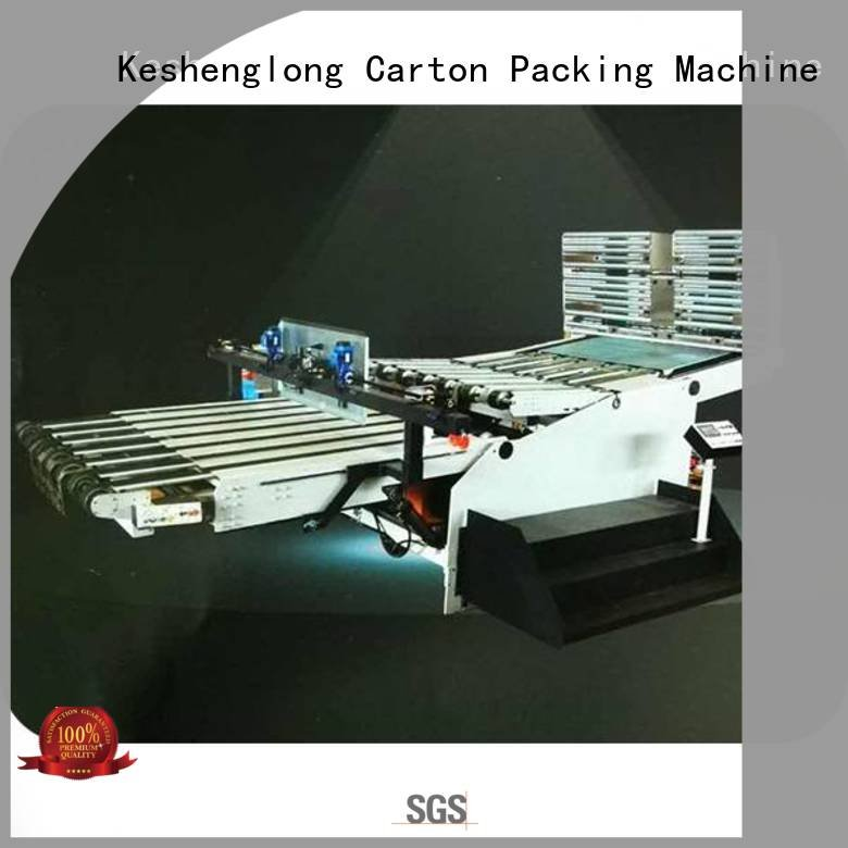 PFA three color KeShengLong KeShengLong cardboard box printing machine