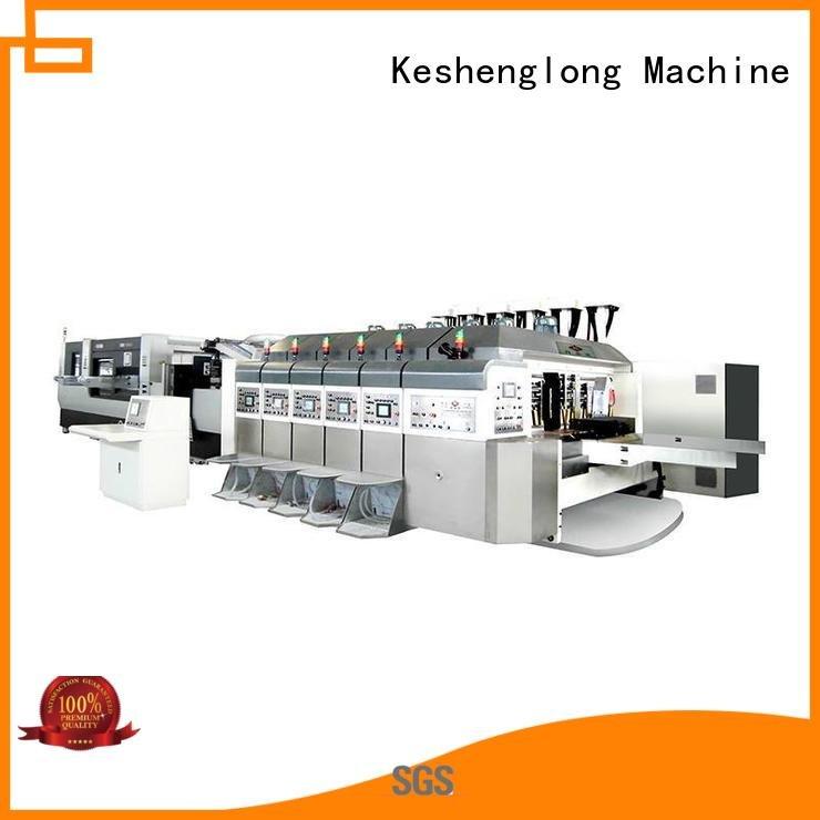 China hd flexo diecutting folding HD flexo printer slotter KeShengLong Warranty