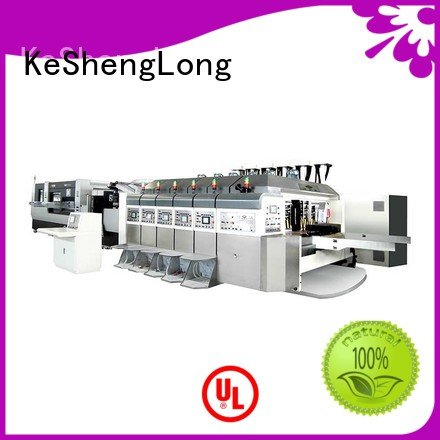 KeShengLong Brand flat movable computerized HD flexo printer slotter die