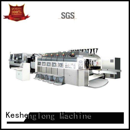 China hd flexo k7 cutting OEM HD flexo printer slotter KeShengLong