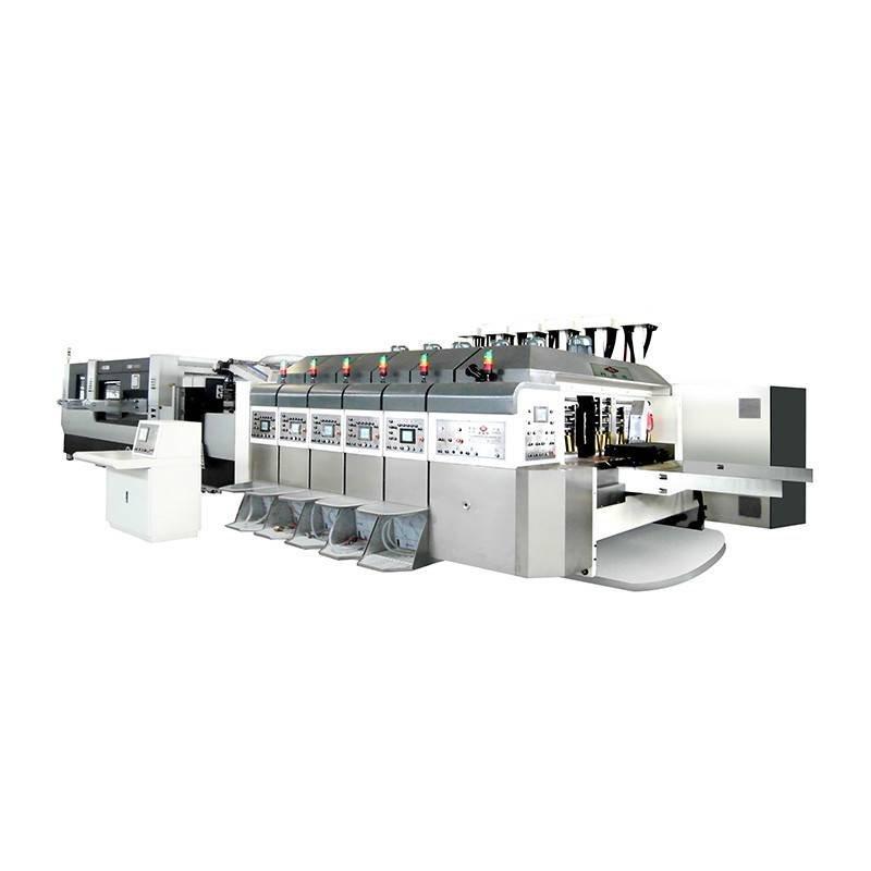 K5 -Computerized Flexo Printing Flat Die-cutting In-Line (Bottom Prlnting)